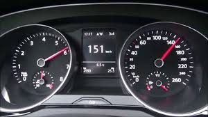 2015 VW Passat B8 1.4 TSI (150 HP) Acceleration 0-220 Km/h - YouTube