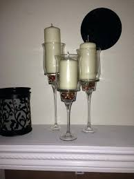 diy dollar tree wall sconce candle holders bling vases and piazza decor