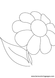 Small Picture Daisy Flower Coloring Pages Coloring Sheet Free All About Free