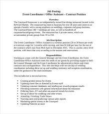 Get Cheap Assignment Writing Service Event Planning Job Description ...