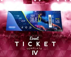 free ticket design template 18 event ticket templates psd loud read