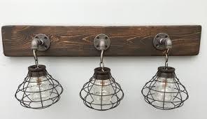 modern rustic lighting. Rustic Lighting For Bathrooms 3 Mason Jar Vanity Light Fixture Intended Ideas 1 Modern U