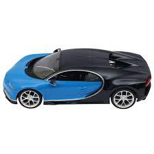 Requires 5 aa batteries — not included. Licensed Rc Car 1 14 Scale Bugatti Chiron Rastar Radio Remote Control 1 14 Rtr Super Sports Car Model Blue Walmart Com Walmart Com