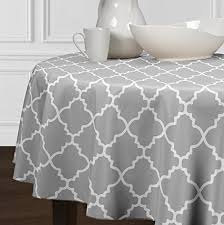 partydelight sequin tablecloth round 70 silver kitchen dining ax8fxhkwz