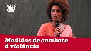 Comissão que investiga morte de Marielle discute medidas de combate à  violência   Jovem Pan