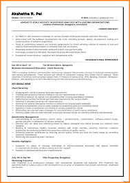 Sample Business Analyst Resume Analyst Cv Sample Elegant Resume Business For Financial And Of 98