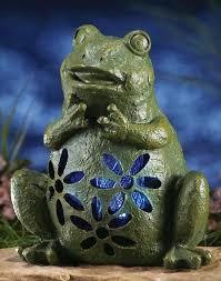 Amazoncom  Smart Solar 3590WRM2 Garden Pal Frog Accent Light 2 Solar Frog Lights