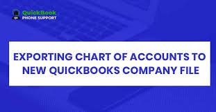Quickbooks Online Export Chart Of Accounts Export Chart Of Accounts To New Quickbooks Company File