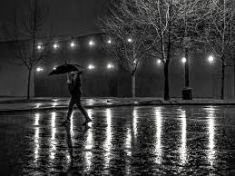 Water Lamps Free Images Water Black And White Woman Night Rain Wet