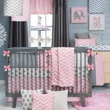 gray and pink baby bedding sets home designaqua and grey nursery