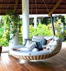 hanging outdoor bed round outdoor porch beds bed hanging daybed swing round outdoor porch beds bed