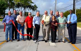 Improved Golfview Drive open for traffic