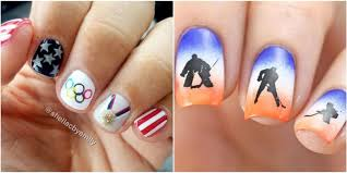Difficult Nail Art Designs 12 Olympic Nail Art Ideas Worthy Of A Gold Medal Nail Art
