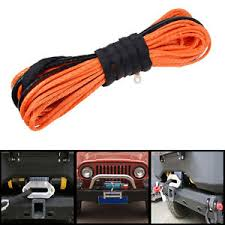 atv winches how to choose synthetic winch rope