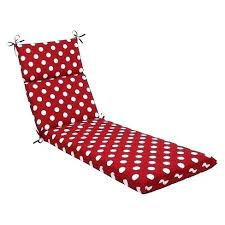 target outdoor chaise lounge outdoor chaise lounge cushion red white polka dot target gardening gardens cushions threshold target outdoor double chaise