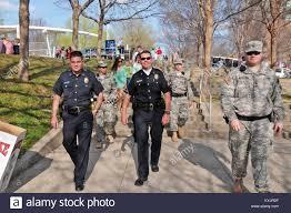 Military Police National Guard Kentucky National Guard Military Police Officers Patrol The Grounds