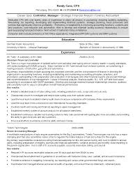 Accounting Controller Resume Samples Transform Sample Finance Controller Resume In Financial Controller 15