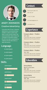 Simple Professional Visual Resume Available In Visme Infographic