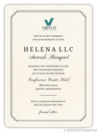 Formal Business Invitation Formal Double Frame Corporate Event Invitation