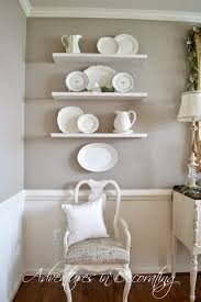 dining room plate wall decor home decor and furnishings adventures in decorating sherwin williams perfect greige