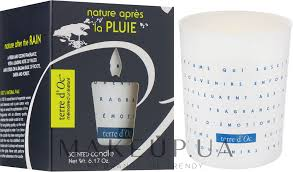 Terre d'Oc <b>Perfumed</b> Candle Nature after the rain - <b>Свеча</b> ...