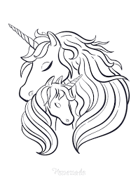 Free unicorns coloring page to download. 75 Magical Unicorn Coloring Pages For Kids Adults Free Printables
