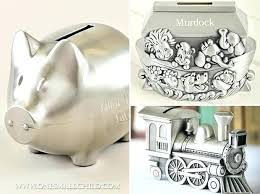 silver piggy bank end end baby gifts from piggy bank personalized for boy keepsake end piggy bank personalised sterling silver piggy bank