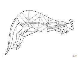 Aboriginal Colouring In Sheets Animals Australian Animal Colouring