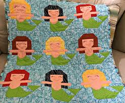 Mermaid Quilt Pattern Simple Ideas