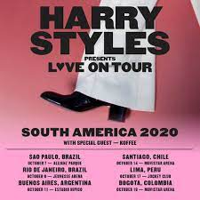 NEW LOVE ON TOUR 2020 SOUTH AMERICA ...