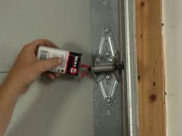 how to lubricate a garage doorLubricating Garage Door Rollers