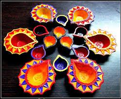 diwali decoration ideas for office with diyas