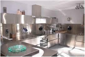Cuisine Inox Pour Particulier Idée Décoration