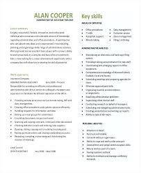 Executive Assistant Resume Templates Enchanting Administrative Assistant Resume Template Download In Sample