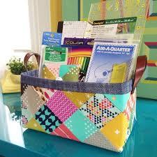 Fabric Basket Pattern