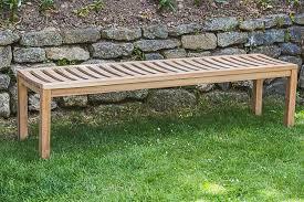 backless garden bench beautiful 6ft garden bench fsc certified teak curved backless