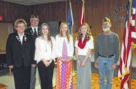 lcc temple christian students recognized for patriotic essays  members of veterans of foreign wars post 1275 in lima pose winners of the patriot s pen essay competition pictured left to right vfw auxiliary