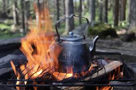 Some campfire coffee pots are meant to just boil the water (grounds and all). Cowboy Coffee An American Tradition The Roasterie