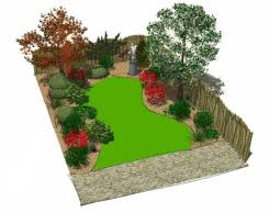 Small Picture 8 x 12m garden layout 3d Backyard Garden Pinterest Gardens