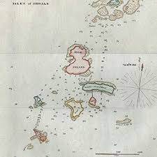 Nautical Charts New England Coast Amazon Com Isles Of Shoals New Hampshire 1848 Blunt