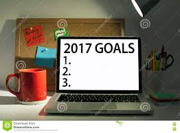 goals for 2017 new year stock photo image 80354880 goals for new year 2017 list concept stock photos