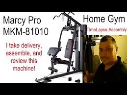 Marcy Mkm 81010 Home Gym Review Assembly Youtube