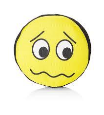 Sad Emoji Frisbee Dog Toy