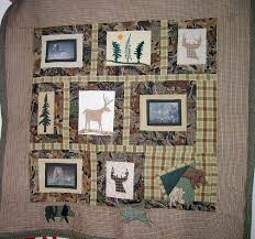 28 best Hunting or man cave quilts images on Pinterest | Man caves ... & Lil John's Hunting Quilt, ... Adamdwight.com