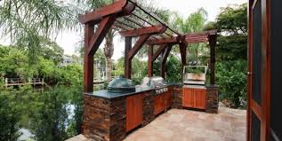 siesta key outdoor kitchen grilling section