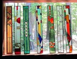stained glass plastic stained glass sheets panels making creative design of inspiration home and decor