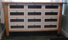 ikea varde freestanding kitchen base unit storage unit 12 drawer birch wood worktop in gillingham kent gumtree