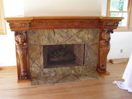 fireplace mantel images