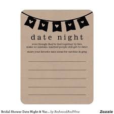 date night invitation template bridal shower date night vacation idea cards vacation ideas