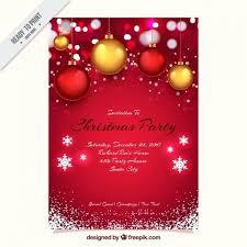 Free Christmas Invitation Template Xmas Party Invitations Templates Free Guluca